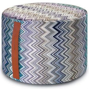 Missoni Home cylinder pouf Jarris 150 - special edition