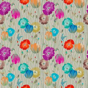Missoni Home wallpaper Poppies Day 10194