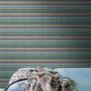 Missoni Home wallpaper Riga Multicolore horizontal 10198