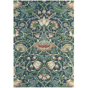 Morris & Co rug Lodden indigo-mineral