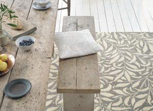 Morris & Co rug Willow Bough Mole