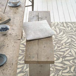 Morris & Co rug Willow Bough Granite