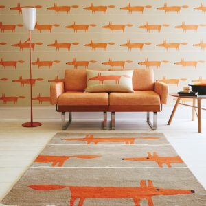 Scion rug Mr Fox Cinnamon
