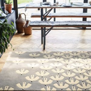 Scion rug Pajaro Steel