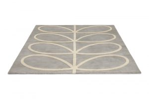 Orla Kiely rug Giant Linear Stem Grey