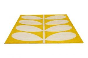 Orla Kiely rug Giant Yellow Stem