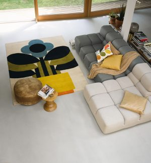 Orla Kiely rug Plant Pot