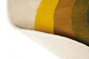 Orla Kiely rug Sunflower Yellow
