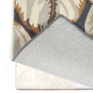 Non-slip rug underlay - white