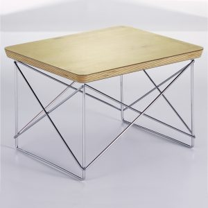 Vitra Eames Occasional Table LTR side table gold leaf