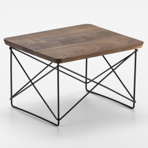 Vitra Eames Occasional Table LTR side table walnut