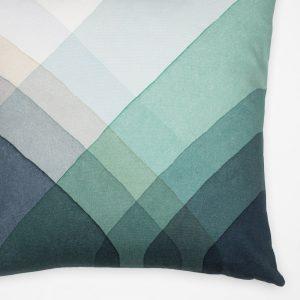 Vitra cushion Herringbone Blue