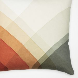 Vitra cushion Herringbone Olive