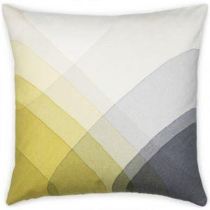 Vitra cushion Herringbone Yellow