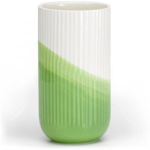 Vitra ribbed vase Herringbone Green