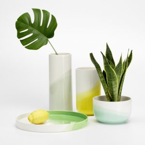 Vitra bowl Herringbone Mint