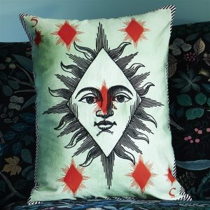 Christian Larcroix cushion Madame Fleur Printemps