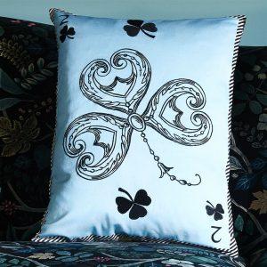Christian Larcroix cushion Monsieur Fleur Bleu Nigelle