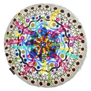 Christian Larcroix cushion Rosetta Multicolore
