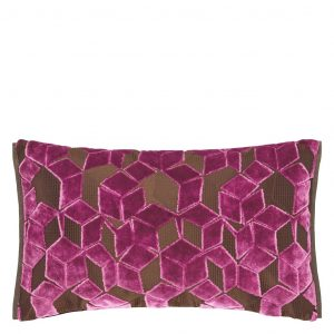 Designers Guild cushion Fitzrovia Damson
