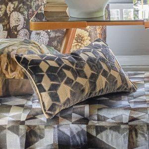 Designers Guild cushion Fitzrovia Espresso