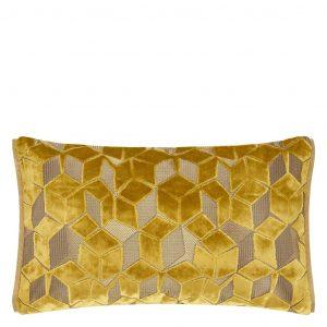 Designers Guild cushion Fitzrovia Ochre