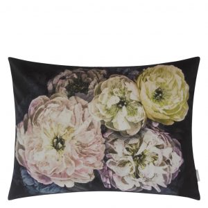 Designers Guild cushion Le Poeme De Fleurs Midnight