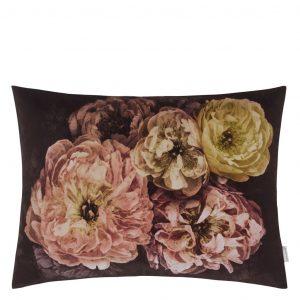 Designers Guild cushion Le Poeme De Fleurs Rosewood