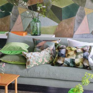 Designers Guild cushion Maurier Emerald