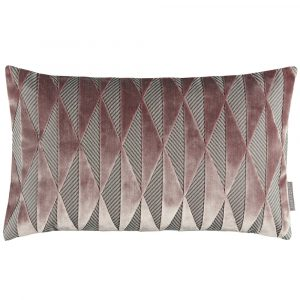 Harlequin cushion Irradiant Rose-Quartz