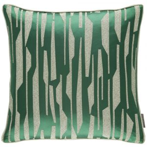 Harlequin cushion Zendo Emerald