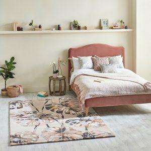 Harelquin rug Kelapa Blush