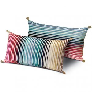 Missoni Home long cushion Jacaranda T50