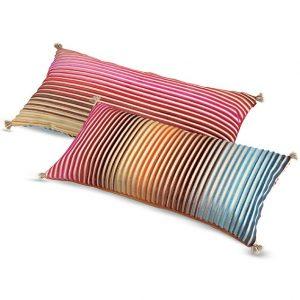 Missoni Home long cushion Jacaranda T59