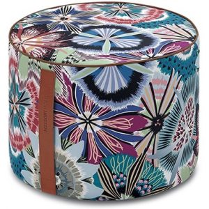 Missoni Home cylinder pouf Passiflora T50
