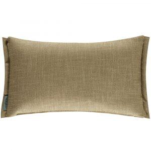 Morris & Co cushion Wardle Embroidery Bayleaf-Manilla