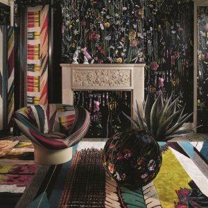 Christian Lacroix rug Geisha Prisme