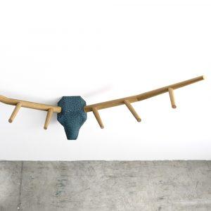 Klybeck wooden coat rack Hunting Trophy YY
