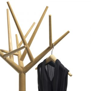 Klybeck wooden coat stand Y oak