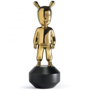 Lladró sculpture The Guest small gold