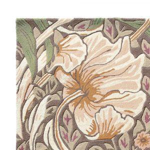 Morris & Co rug Pimpernel Aubergine