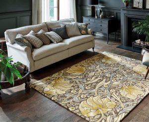 Morris & Co rug Pimpernel Bullrush