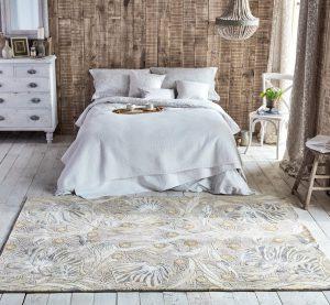 Morris & Co rug Pimpernel Linen