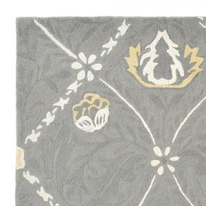 Morris & Co rug Trellis Lightish Grey