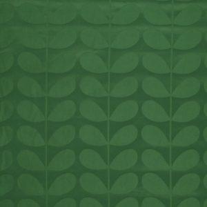 Orla Kiely furniture fabric Jacquard Stem Jade