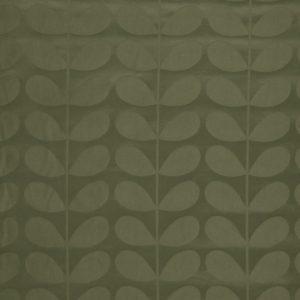 Orla Kiely furniture fabric Jacquard Stem Khaki