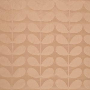 Orla Kiely furniture fabric Jacquard Stem Tea Rose