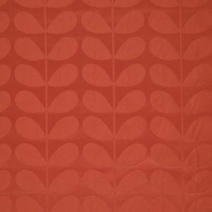 Orla Kiely furniture fabric Jacquard Stem Tomato