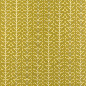 Orla Kiely curtain fabric Linear Stem Dandelion