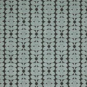 Orla Kiely furniture fabric Velvet Sixties Stem Powder Blue